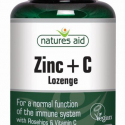 Nature's Aid Zinc + Vitamin C